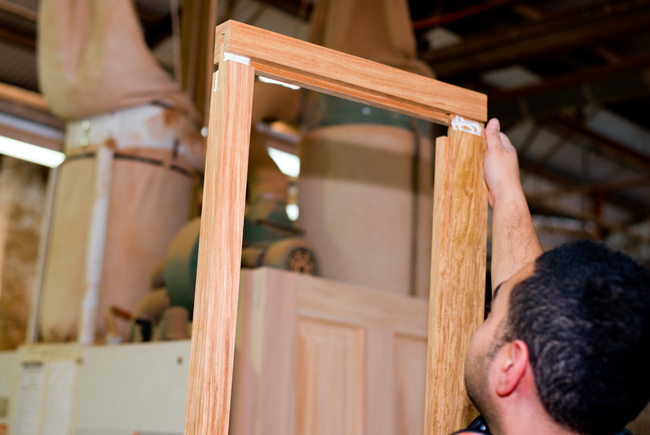 Custom made timber windows and doors from Roseville Joinery