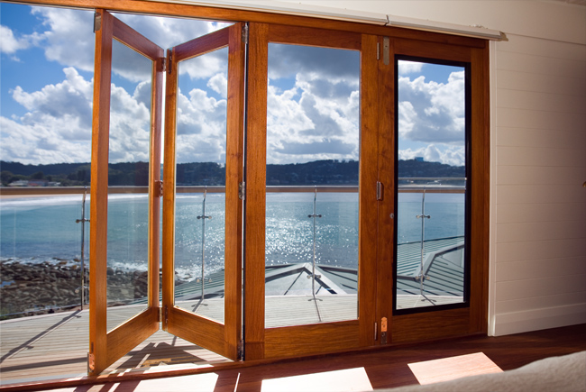 Solid Timber Bi Fold Doors Sydney | Roseville Joinery